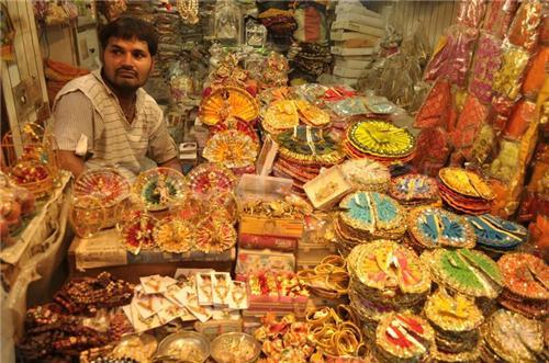 Religious Shopping in Vrindavan