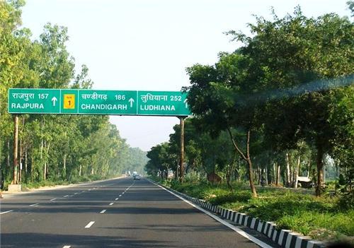 Roadways in Thanesar