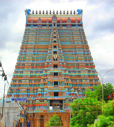 Rajagopuram of Srirangam Temple