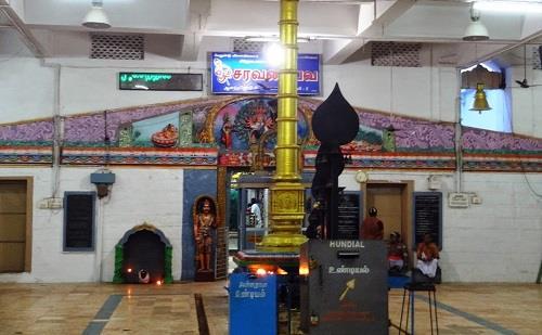 Inside Veludayanpattu Sri Siva Subramania Swamy Temple