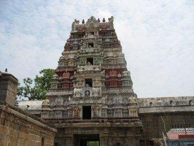 Holy Gate at Srimushnam Temple