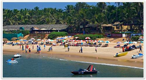 Sea beaches in India