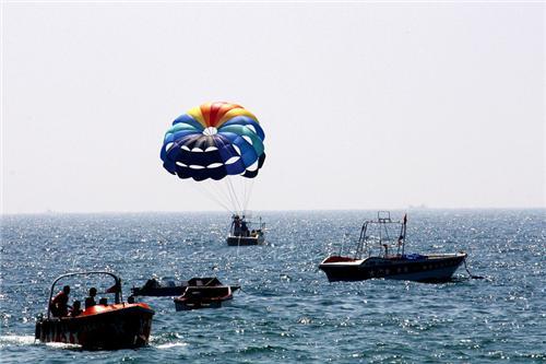 Watersports at Devka beach