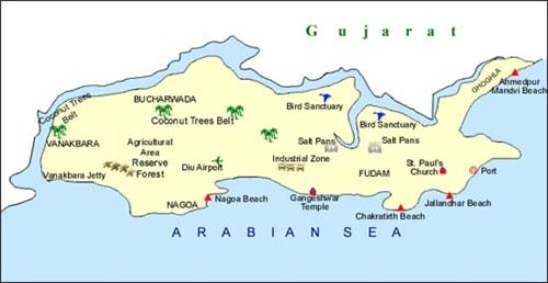Geography of Diu