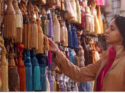 Shopping in Darbhanga