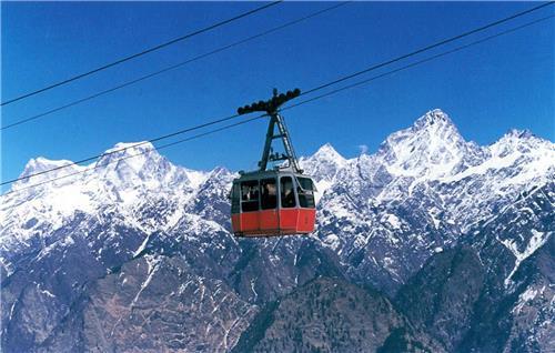Thrilling Ride at Darjeeling Ropeway