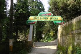 Entrance of Lloyd's Botanical Garden in Darjeeling