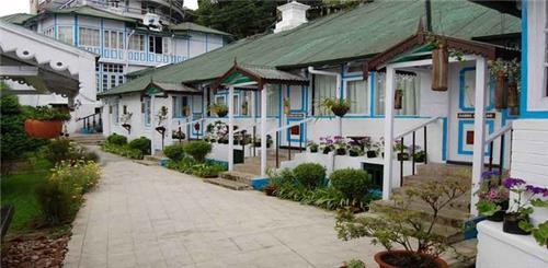 Aged Old Decor of Swiss Hotel in Darjeeling