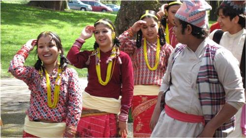 Local Dance in Darjeeling