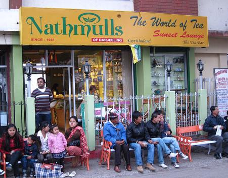 Outside the Nathmull's Tea Room