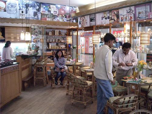 Inside the Nathmull's Tea Room