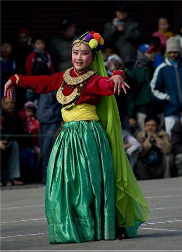 Folk Dance of Darjeeling