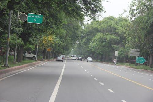 The Tree Lined akbar Road
