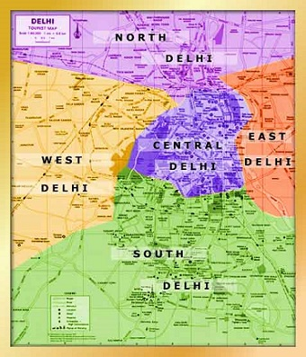 Localities of Delhi