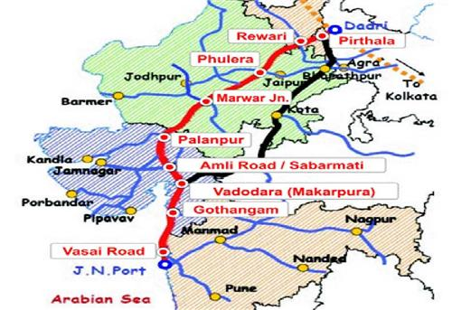 Delhi Mumbai Highway Route