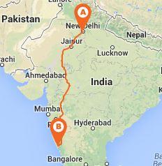 new delhi road map pdf