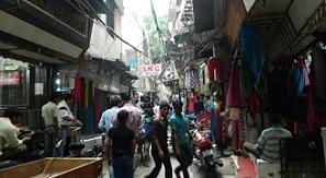 Gandhinagar market in Delhi