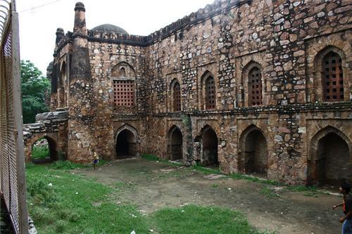 Khirki masjid Delhi