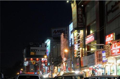 Electronics market in Delhi