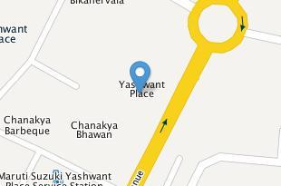 Map of Yashwant Place Market
