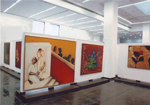 Paintings in NGMA Delhi