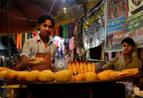 Street Food in West Delhi