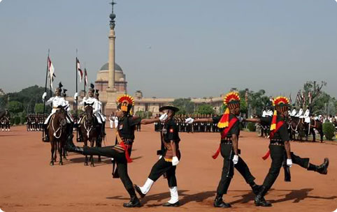 Rashtrapati Bhawan change of guards