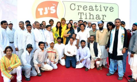 Creative activities in Tihar