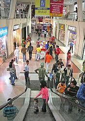 Shopping mall in delhi