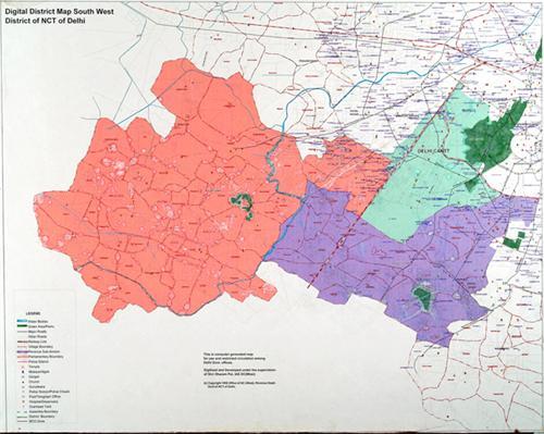South West District of Delhi