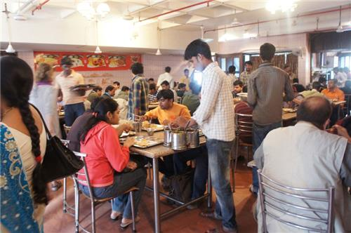 Canteen of Andhra Bhawan in Delhi