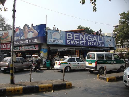 Bengali Market in Delhi