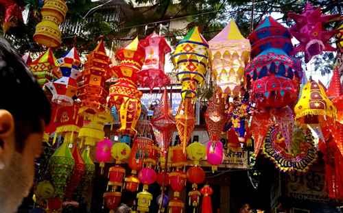 Dilli Haat during Diwali