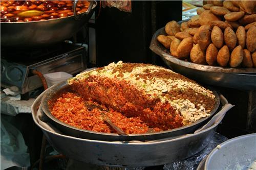 Street Food near Jama Masjid