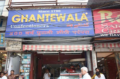 Street Food in Delhi
