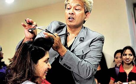 javed habib hair cutting salon