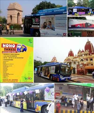 Hoho Buses in Delhi