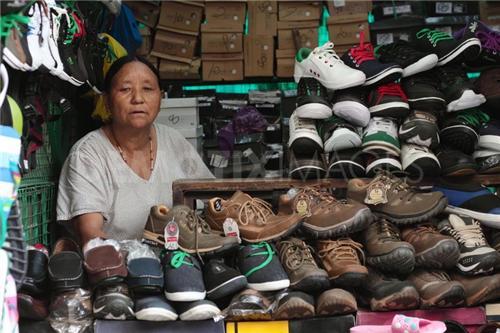 Tibetan Market in Delhi