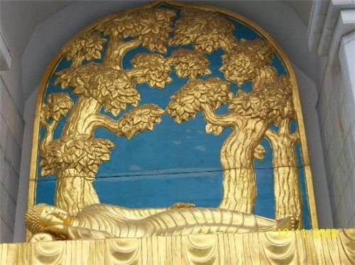 One the Vishwa Shanti Stupa
