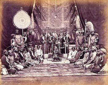 Historical Photograph of Darbar in Dholpur