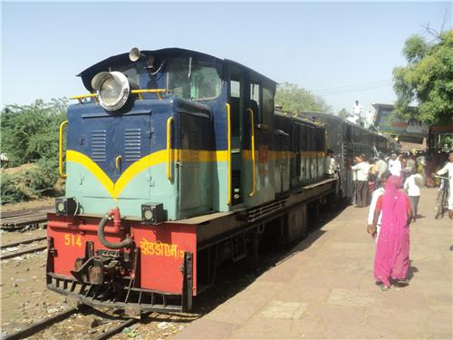 Rail transport in Dholpur