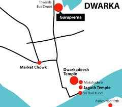 Geography of Dwarka