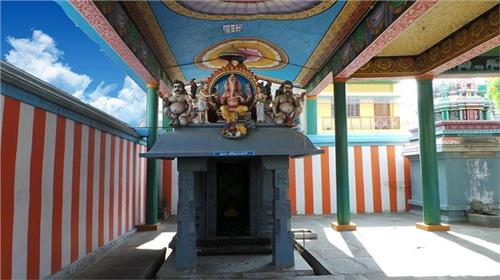 Vinayagar Shrine at the Arulmigu Arudra Kabaliswarar Temple