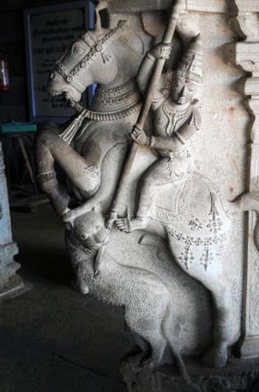 Sangameshwarar Temple Sculptures