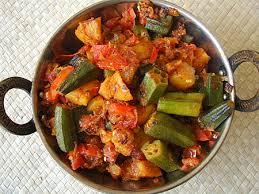 North Indian alu bhindi
