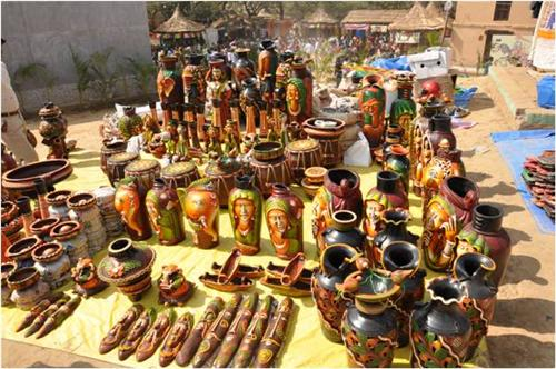 Surajkund Crafts Mela in Faridabad