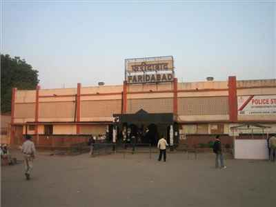 Railway Station in Faridabad