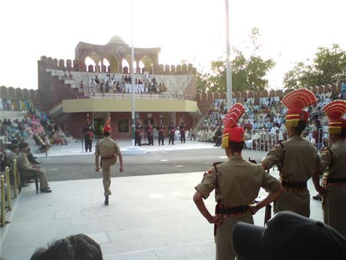 International Border in Hussainwala