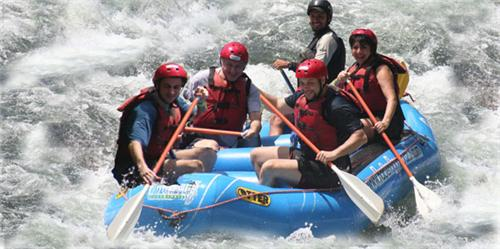 river rafting in Gangtok