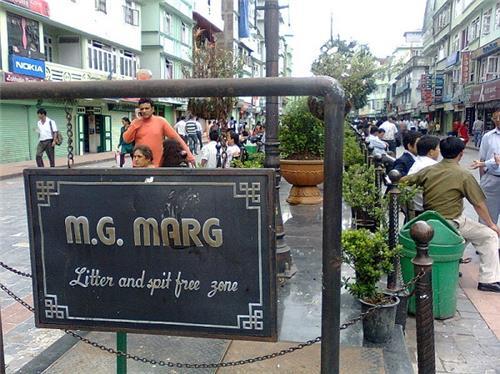 Shopping in Gangtok